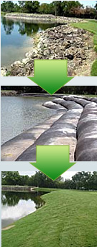 Geotube Installation - Erosion Barrier
